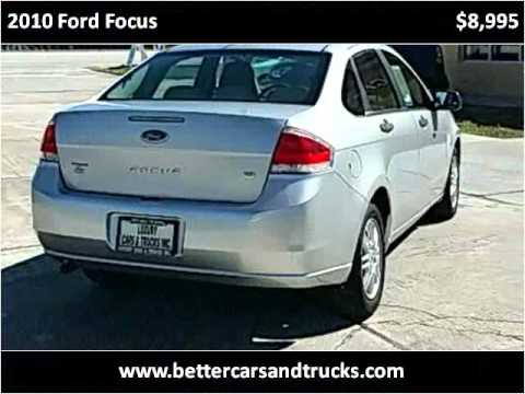 Nice 2010 Ford Focus Used Cars Port St. Lucie FL