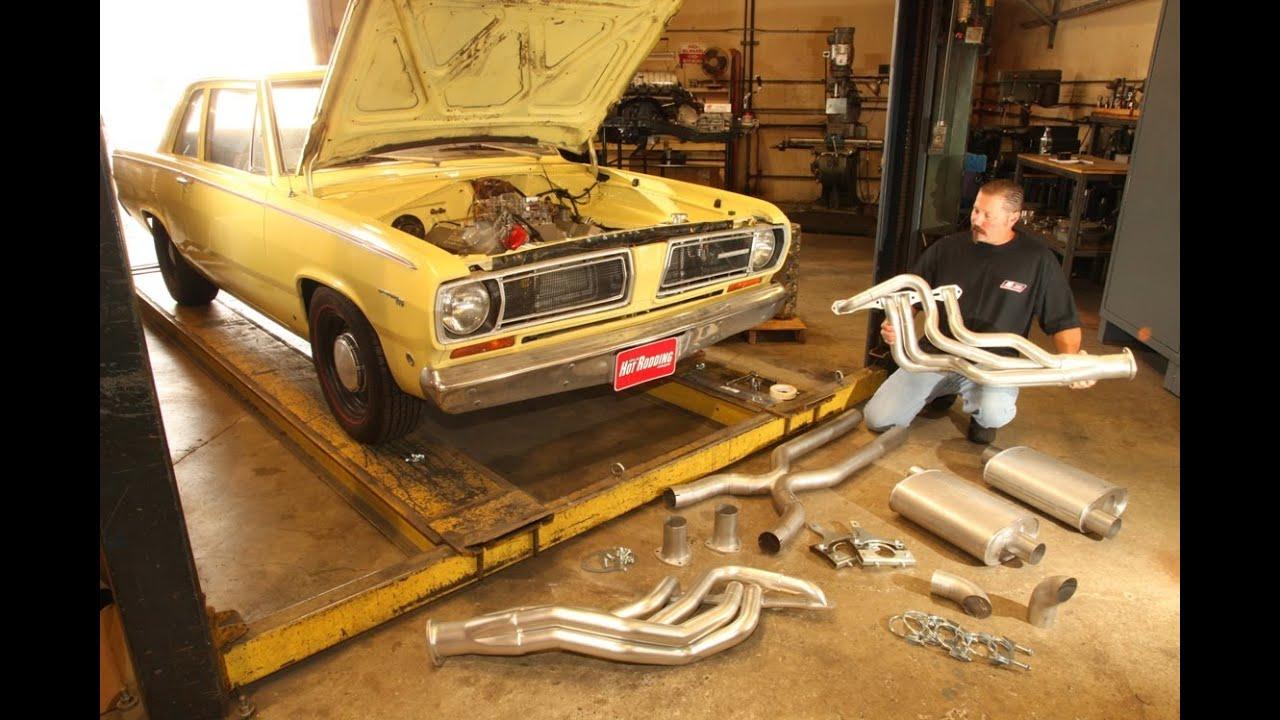 Installing TTI Headers & Exhaust In Project Valiant
