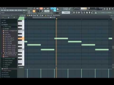 Eiffel 65 - Blue (Da Ba Dee) Fl studio 12 (-Remake By Nasr Be-)