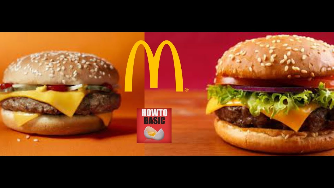 Howtobasic Parody: How To Make A Mcdonald's Burger