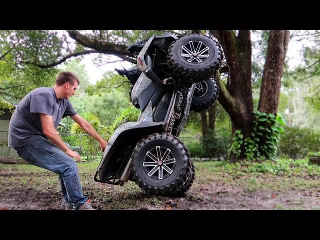 I BROKE My NEW ATV in 5 Minutes