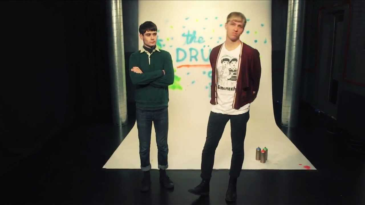 The Drums MTV Celebrity Chart - YouTube
