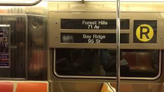 NYC Subway Rare: R68A (R) train footage