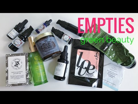 GREEN BEAUTY EMPTIES/September 2017