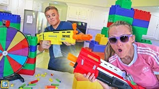 NERF WAR! Last To Leave NERF Blaster Battle!