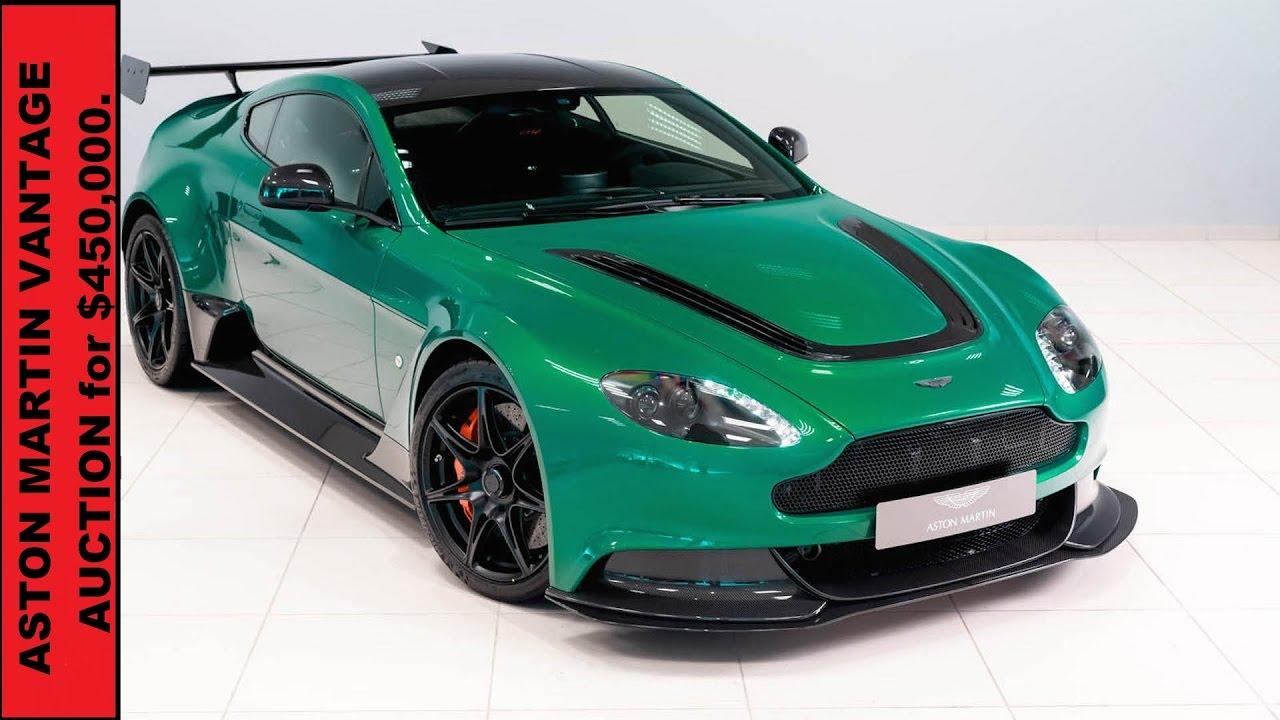 Это единственный Aston Martin Vantage GT12 В Viridian Green за $ 450000.