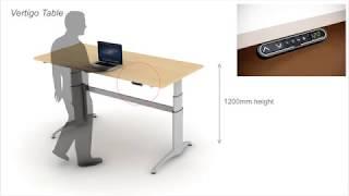 Bristol Technologies: Vertigo Sit To Stand Table