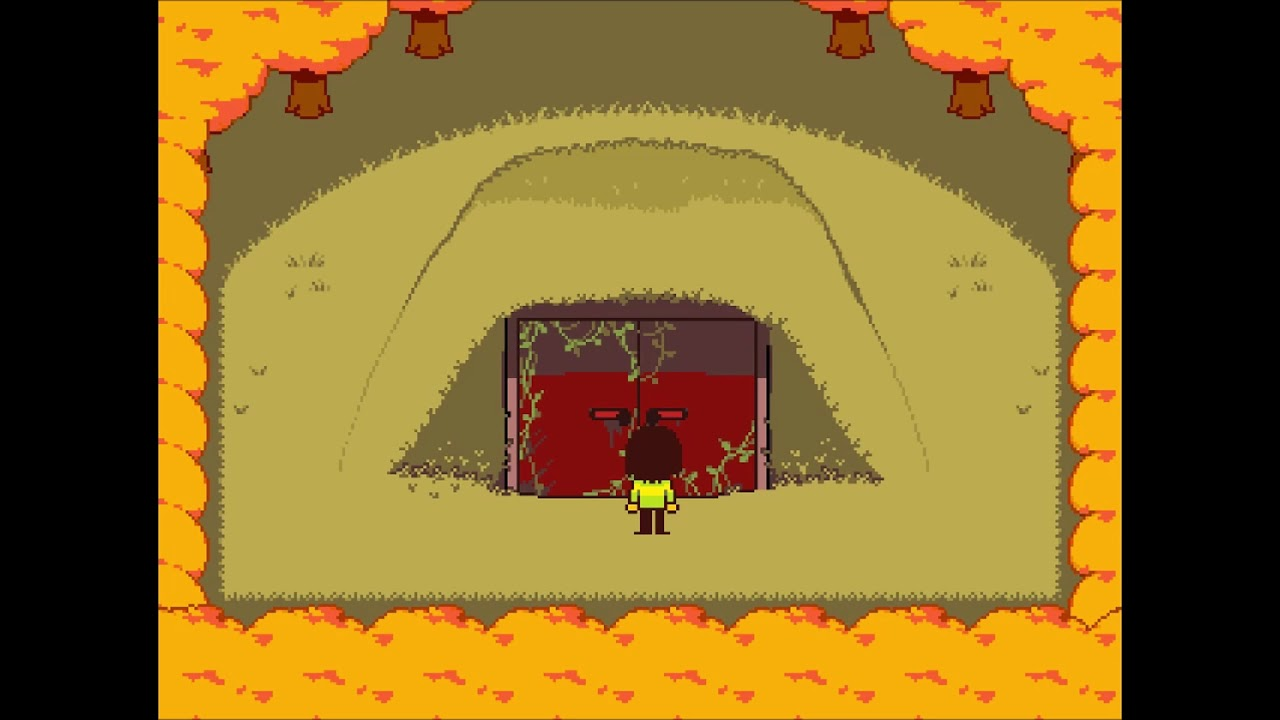 End of game rumbling sound in DELTARUNE? of course it means something