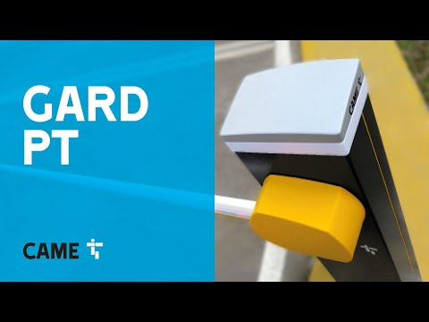 GARD PT: the CAME automatic road barrier with brushless DC electric motor