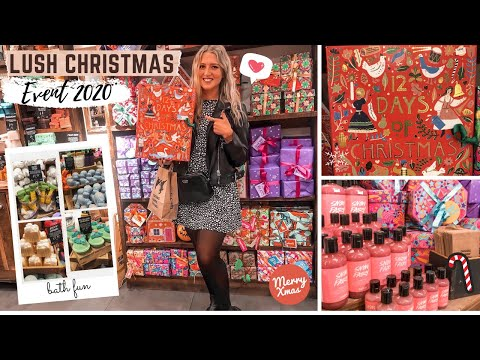 CHRISTMAS LUSH EVENT 2020! EXCLUSIVE FESTIVE RANGE | CAITLYN HEARTS