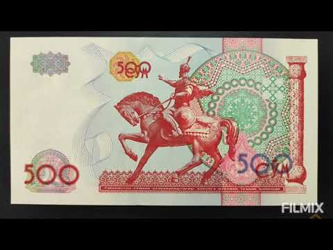 Uzbekistan🇺🇿 Bank Note 🌎500 Soʻm