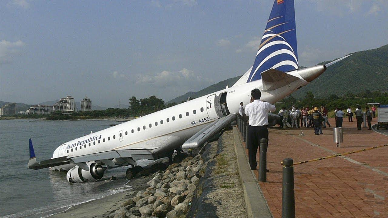 Dünya Tarihinin En Korkunç Uçak Kazaları - YouTube