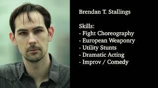 Brendan Stallings 2021 Action Demo Reel