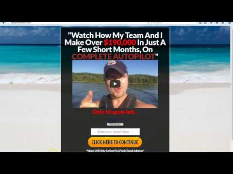 NEW National Wealth Center TEAM Sales Funnel (Converting at 70-80%) For My NWC Members!