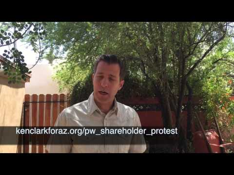 Pinnacle West (APS) Shareholder Protest Announcement