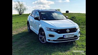 Volkswagen T-roc R-line 2019 1.5 TSI 150KM DSG PL TEST Skodziarz Testuje Video
