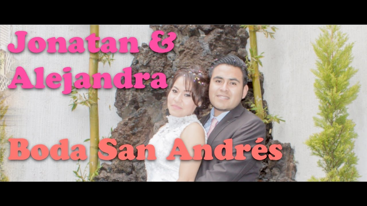 Matrimonio Simbolico San Andres : Boda jona ale san andres cuexcontitlan doovi