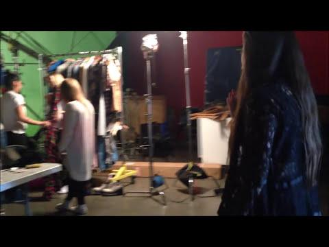 Stalker Sarah, Janoskians & more - Austin Mahone MMM YEAH video shoot