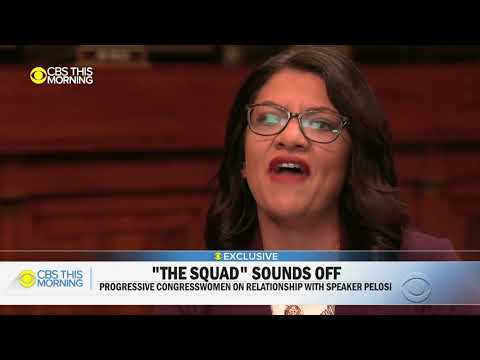 WATCH: Tlaib refuses to let AOC answer question