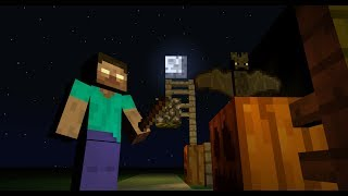Monster School: Scaring (Minecraft Animation)