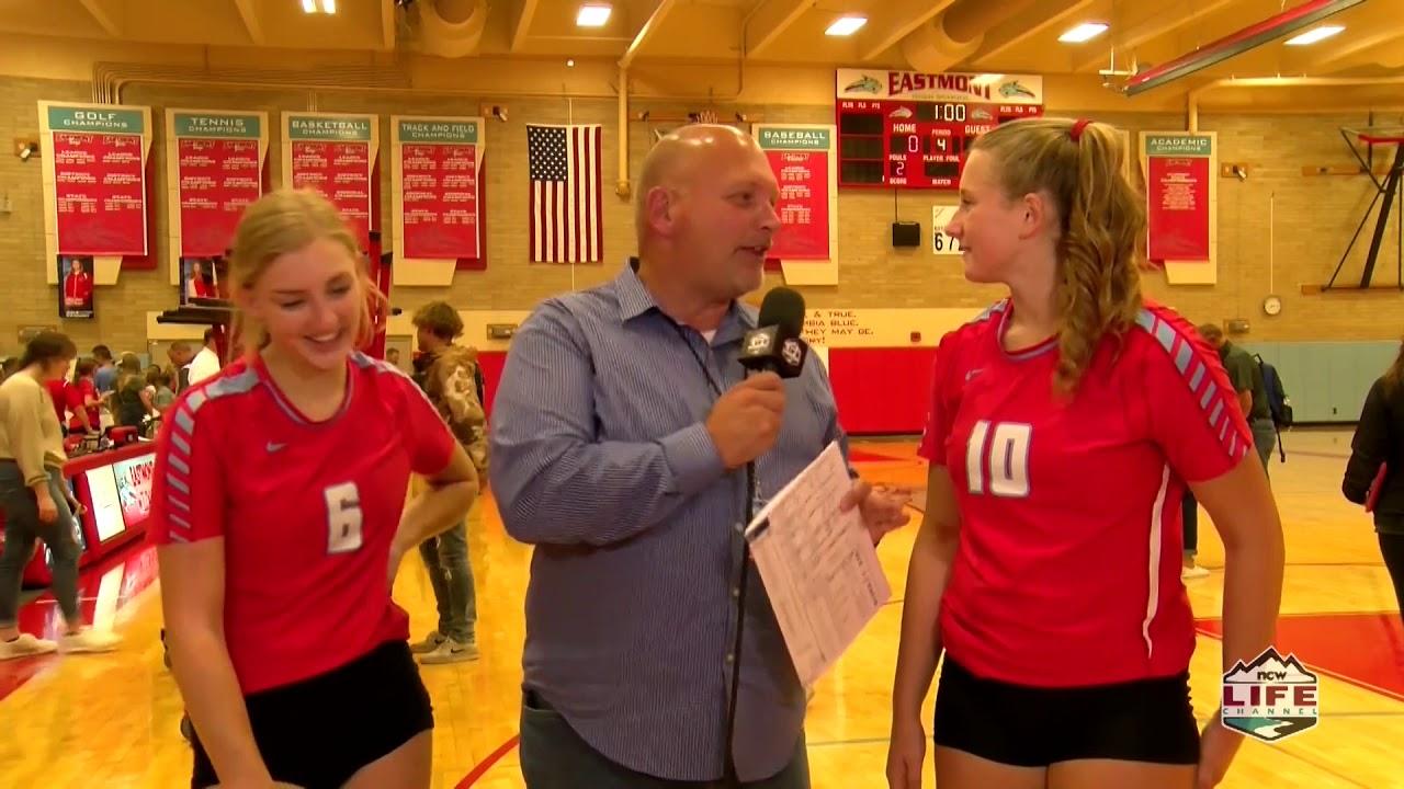 Eastmont vs Eisenhower Volleyball Highlight 2019-09-19