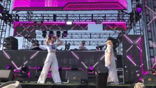 Charli XCX + Uffie - Baby Girl LIVE HD (2017) Hard Summer Music Festival