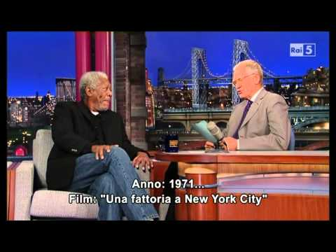 Morgan Freeman al David Letterman 01-11-2013 (sub ita)