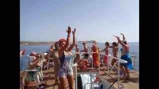 Водная экскурсия на КИПРе - Протарас - Средиземное море октябрь 2016(Побывать на Кипре, искупаться в чистейшем теплом и обязательно лазурном море с пальмами на берегу ... - эта..., 2016-10-20T22:16:09.000Z)