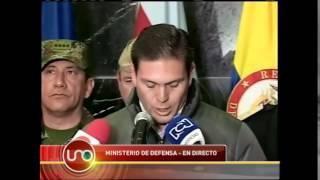 Las Farc secuestran al General Rubén Darío Alzate