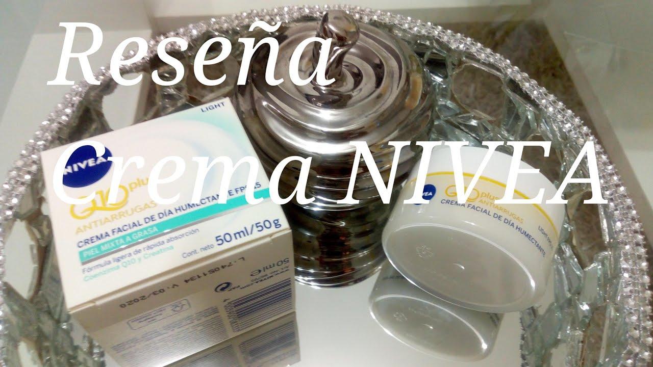 Crema Antiarruga NIVEA Q10 Reseña. - YouTube