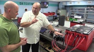 Inside Lithionics RV Lithium Batteries