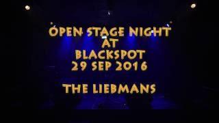 The Liebmans singing on Open Stage Sonderborg