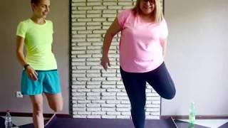 Тренировка для толстых дома / РАЗМИНКА