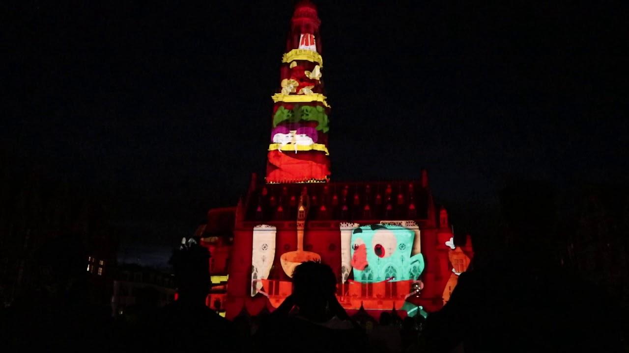 VIDÉO MAPPING FESTIVAL 2019 ARRAS