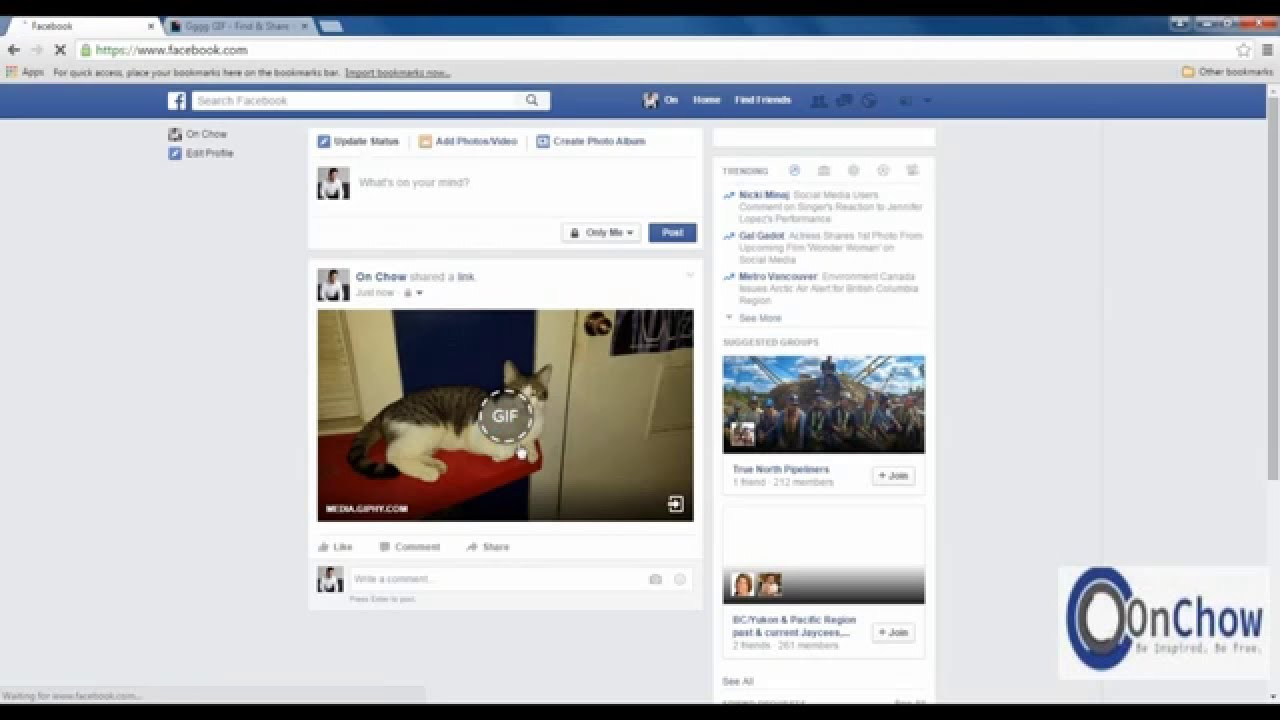 How To Upload A Gif To Facebook 1