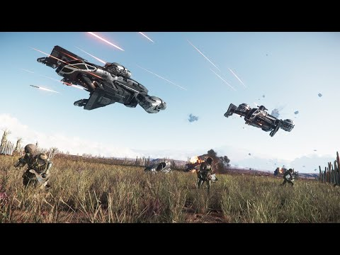 Is Star Citizen the ABSOLUTE BEST Space Simulator Ever | First Look Star Citizen Gameplay