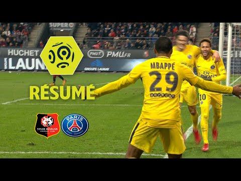 Stade Rennais FC - Paris Saint-Germain (1-4)  - Résumé - (SRFC - PARIS) / 2017-18
