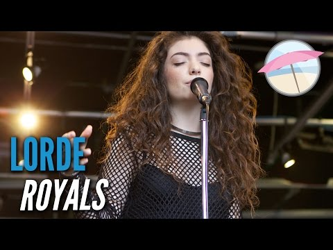 Lorde - Royals (Live at the Edge)