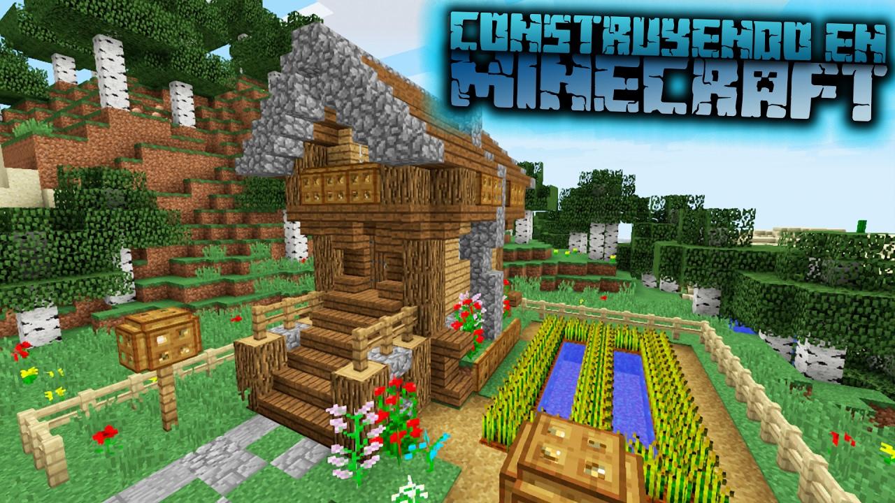 Como hacer una casa para survival medieval en minecraft for Como hacer una casa clasica en minecraft