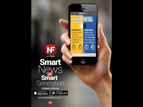 News Flicks Animation for Magazine