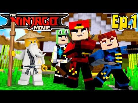 minecraft-lego-ninjago---ropo,-little-lizard-&-scuba-steve-become-ninjago's!!
