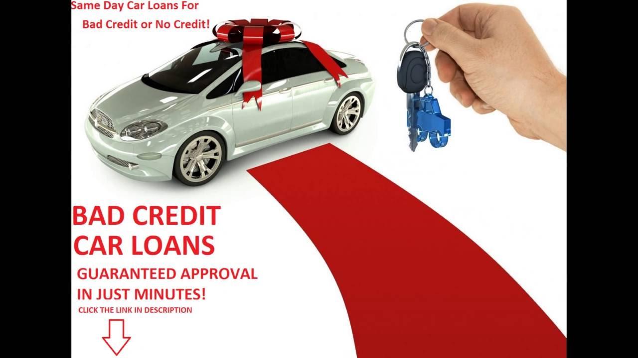 Same Day Car Loans For Bad Credit Same Day Auto Finance Guaranteed