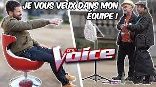 The voice avec des chanteurs de rues - Défi Prank - Les Inachevés