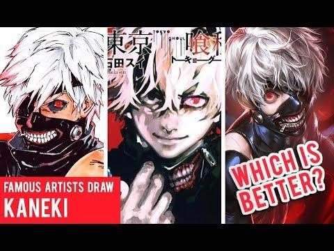 Famous Manga Artists Kaneki Drawings