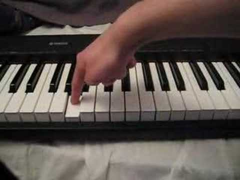 how to play the 'secret' sound from zelda (piano)