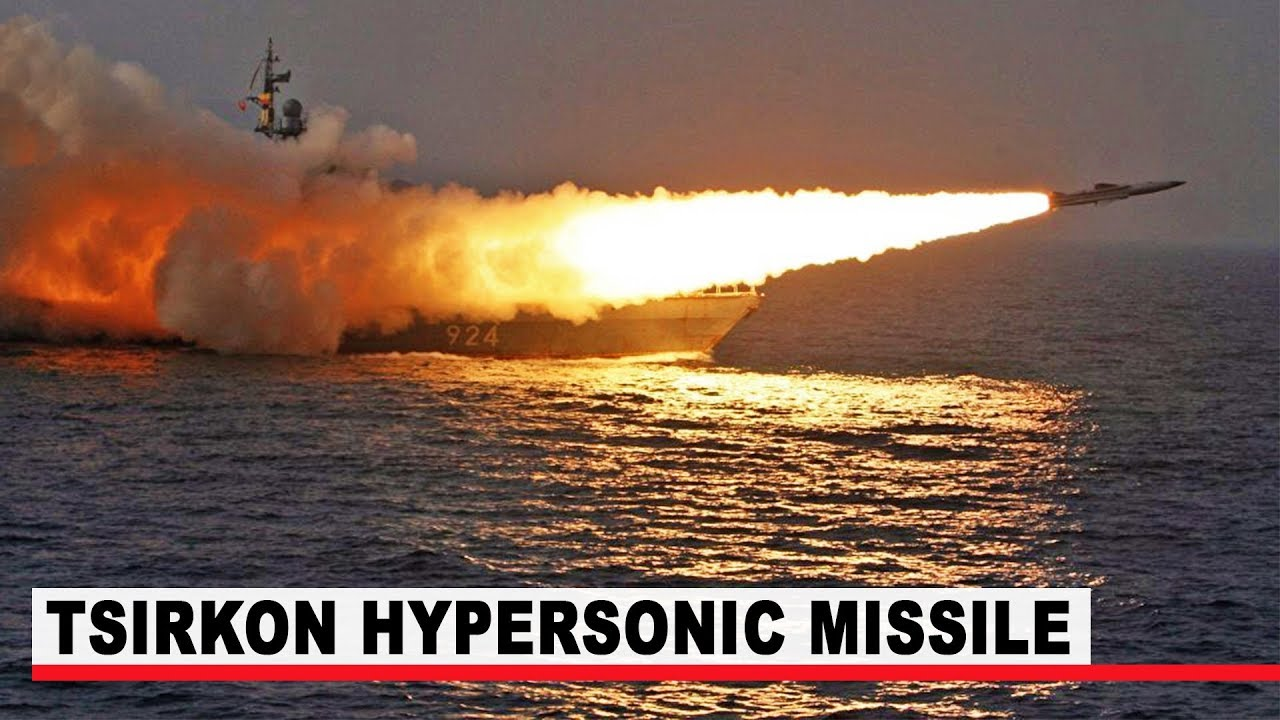 Watch How Russia test-launches Tsirkon hypersonic missile from ship for first time
