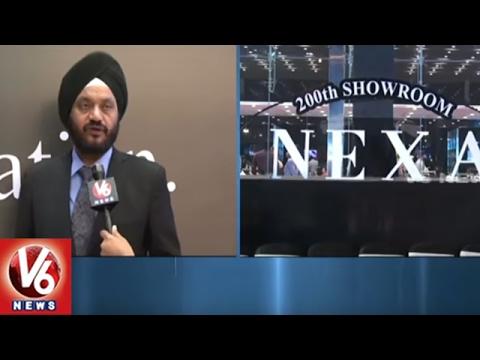 Maruti Suzuki Launches Its 200th NEXA Showroom in Nagole | Hyderabad | V6 News