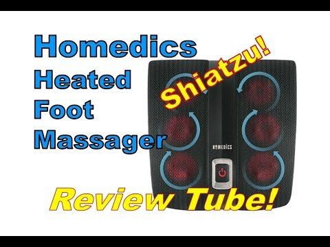 Homedics HEATED Shiatzu Foot Massager