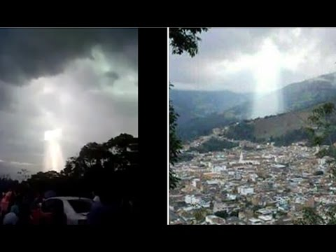 DIVINE SIGNAL IN MANIZALES, COLOMBIAN SKIES APRIL 28, 2017 (EXPLAINED)