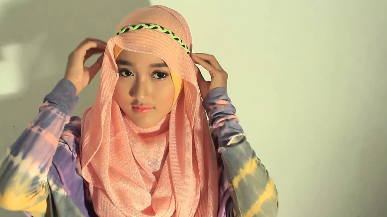 Tutorial Hijab Pashmina Simple Elegant YouTube